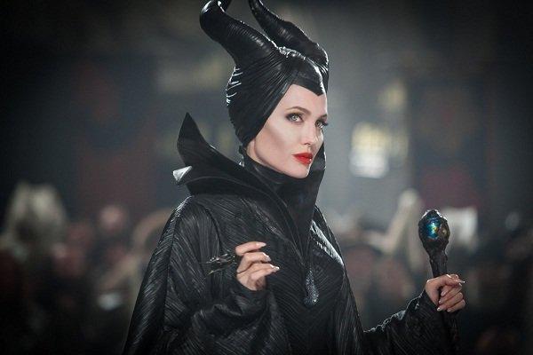 گریم جذاب آنجلیناجولی در نقش یک ملکه بدجنس/عکس