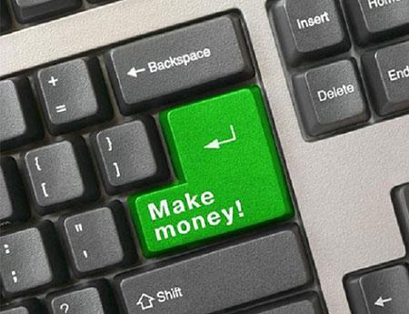 کسب درآمد از اینترنت، کلیک کنید پول بگیرید