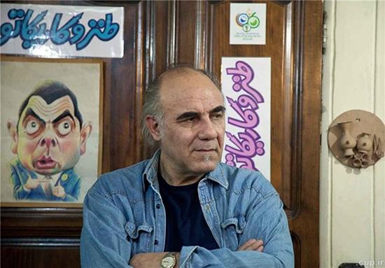 گفتوگو ی«فرهیختگان» با جواد علیزاده، کاریکاتوریست مطبوعاتی مبدع طنز چهار بعدی