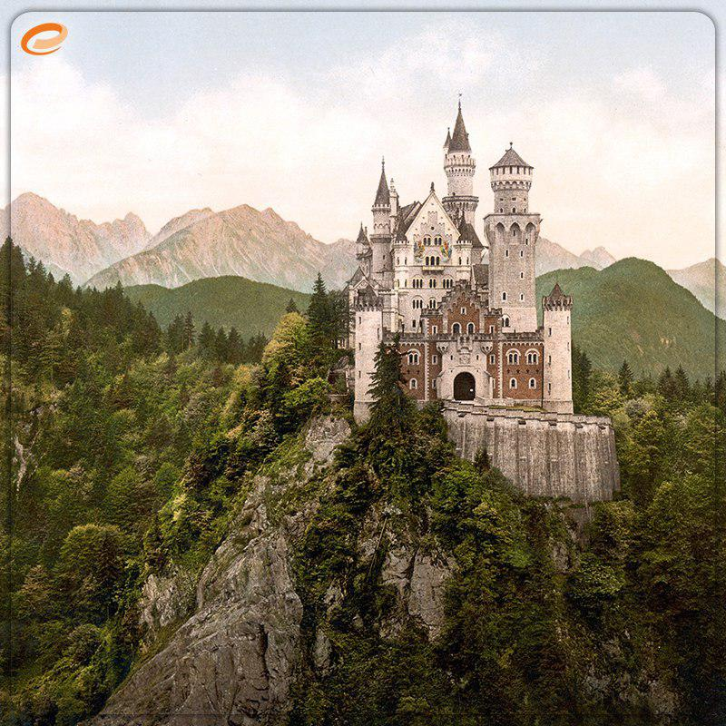 تصویر: این قلعه الهام بخش کارتون «زیبای خفته» بوده!