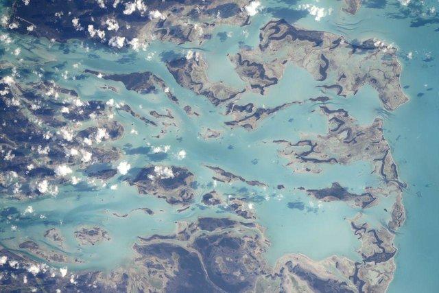 معرفی یکی از سرگرمیهای جذاب فضانوردان!/ جزایر دریای کارائیب؛ خیره کننده ترین نقطه بر روی زمین! +تصاویر