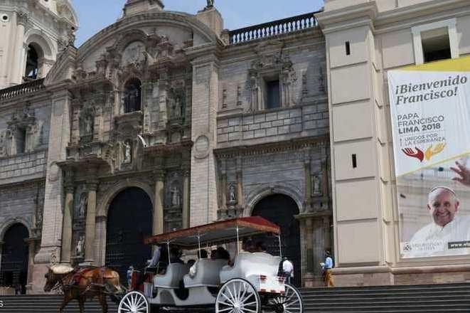 منفجر شدن در کلیساهای شیلی قبل از عزیمت پاپ