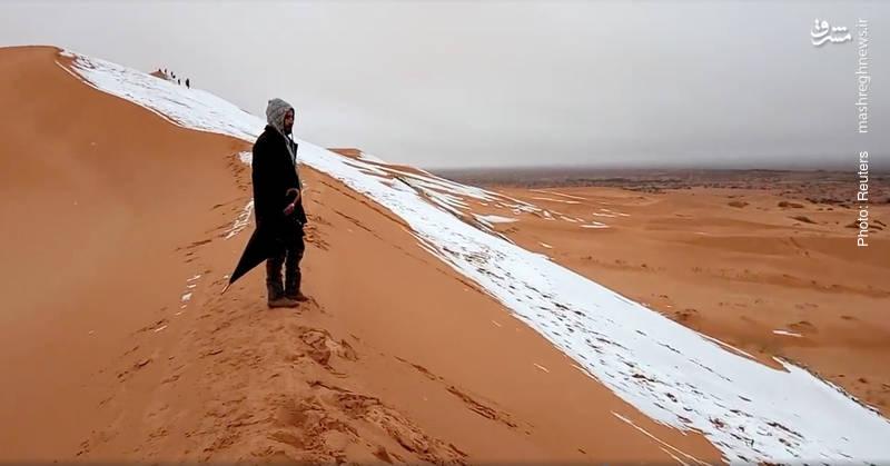 برف در کویر الجزایر