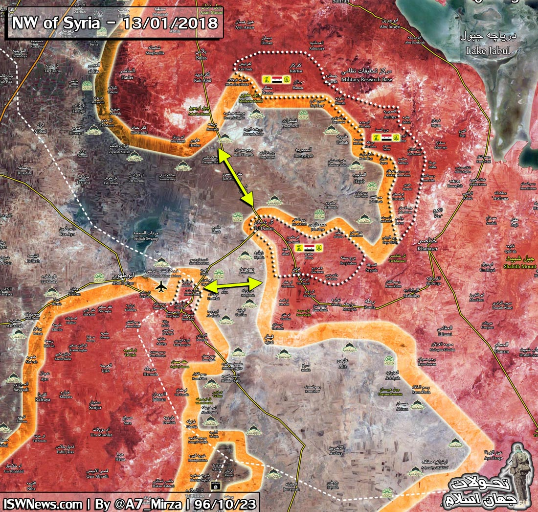 عقبنشینی کامل تروریستها از جنوب حلب/عملیات جنگندههای روسیه در استان ادلب