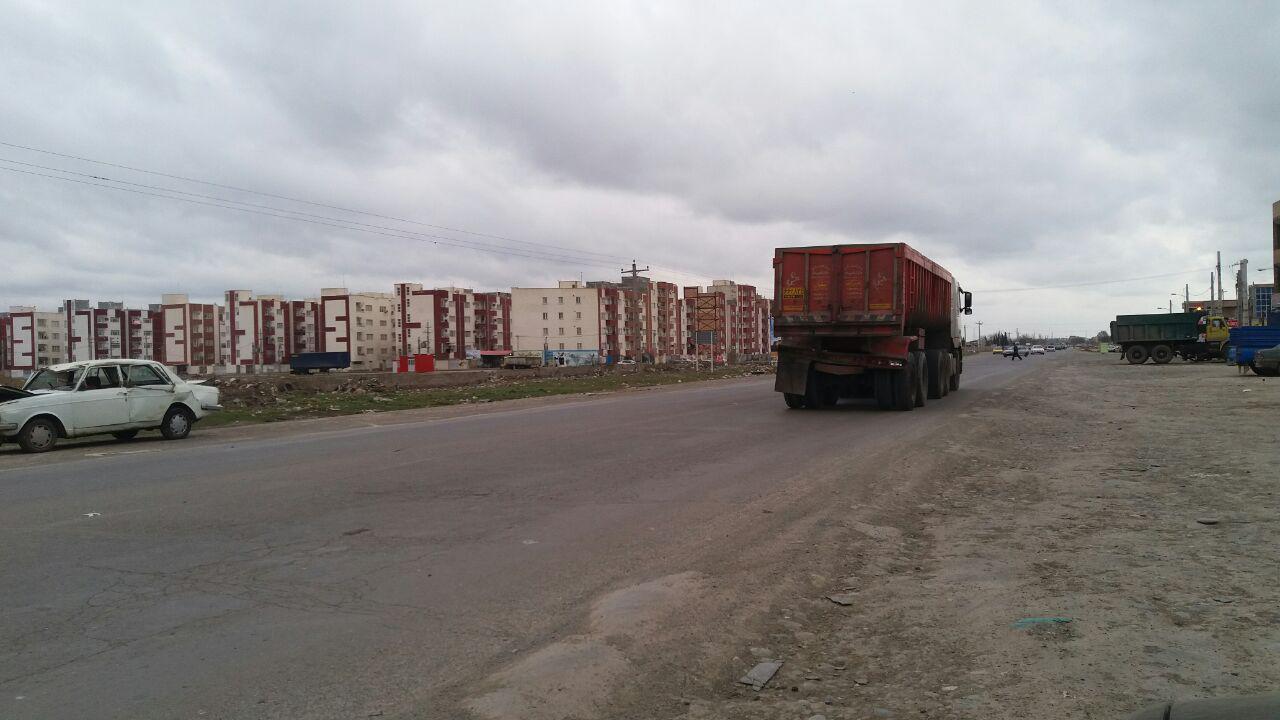 پارس آباد مغان شهری که دروازه ورودی مناسب ندارد + تصویر