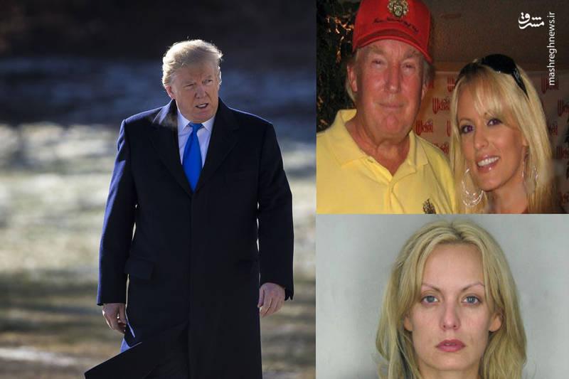 ترامپ چه طور با بازیگران فیلم های مستهجن ارتباط برقرار می کرد + عکس ها
