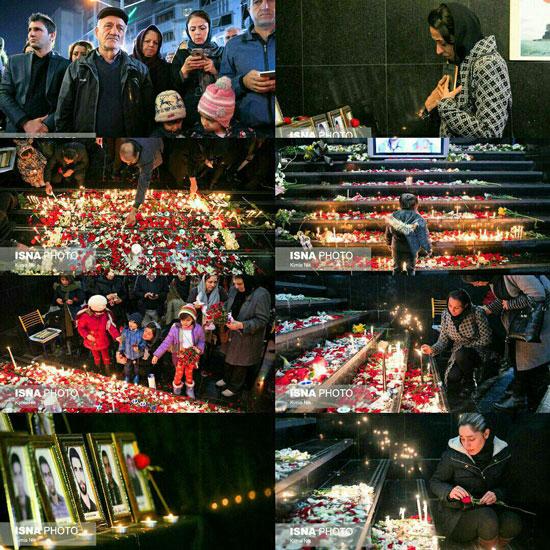 مراسم یادبود شهدای کشتی سانچی در تهران