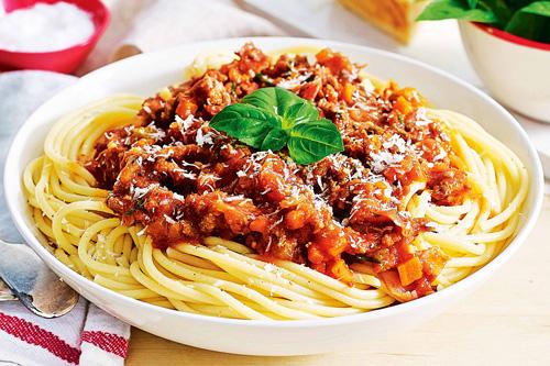 طرز تهیه اسپاگتی بلونز