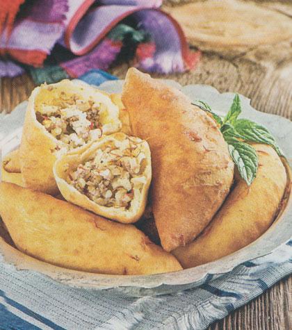 بورک گوشت و برنج