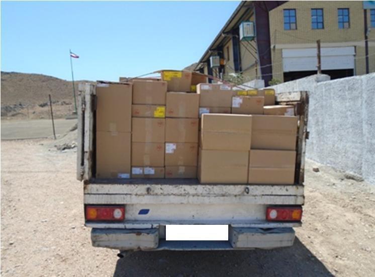 امکانات رایانه ای قاچاق در خوزستان کشف شد