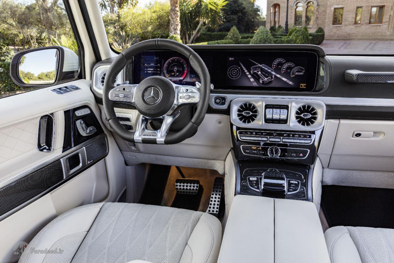 سفید و چاق مثل بنز جی63 مدل 2018