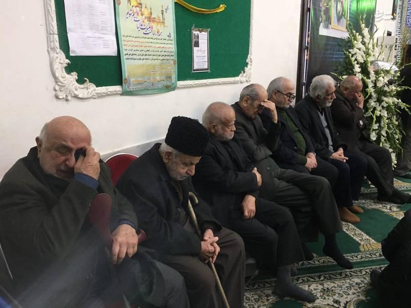 مجلس ترحیم فرزند احمد توکلی