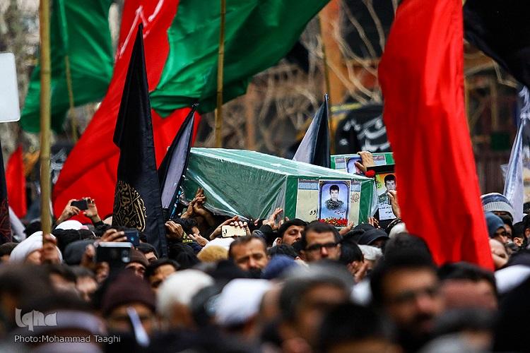 اجتماع فاطمیون با عطر حضور سه شهید مدافع حرم