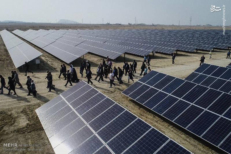 در این طرح که با مشارکت طرف ایتالیایی به بهره برداری رسید، 100 نفر کارگر کارشناس و تکنیسین مشغول به کار بودند که 25 کیلومتر کابل آلومینیومی، 200 کیلومتر کابل خورشیدی و 30 هزار پنل خورشیدی نصب شد.