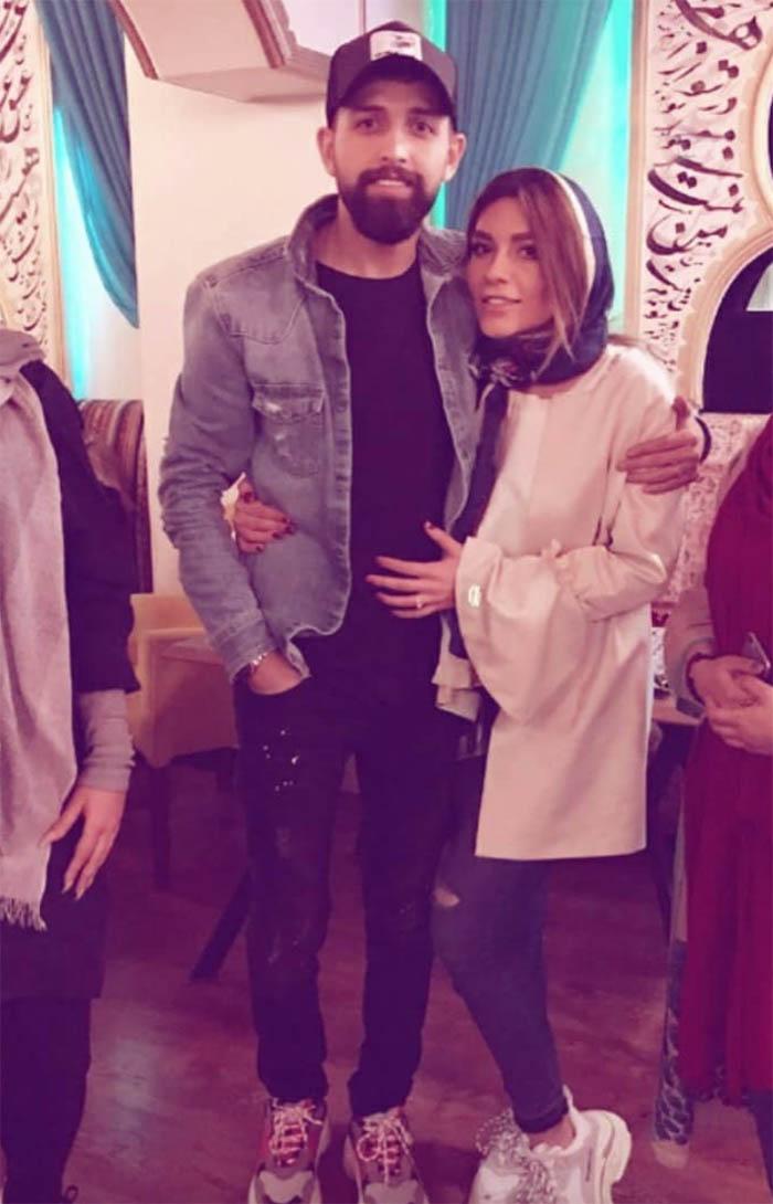 عسکی از جشن تولد همسر بازیگر پرحاشیه! + عکس