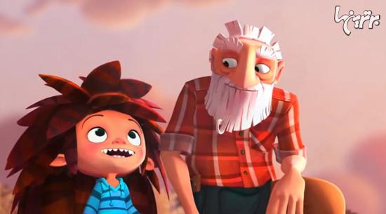 انیمیشن کوتاه «جعبه ی هیولا»