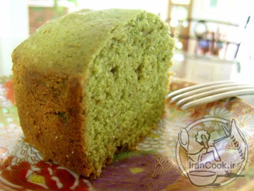 کیک چای سبز با طعم جدید