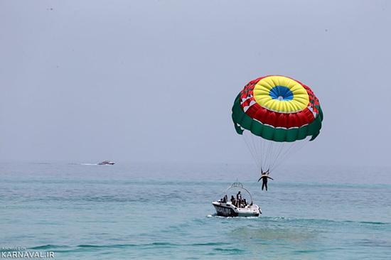 تفریحات آبی کیش   تجربه هیجان در مروارید خلیج فارس