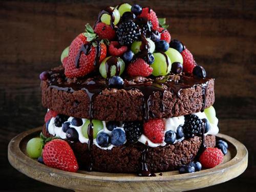 کیک دولایه