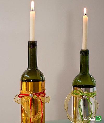 تزیین بطریهای دور ریختنی؛ یک عیدی ویژه برای نوروز ۹۷
