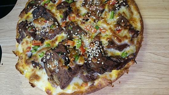 طرز تهیه پیتزا زبان