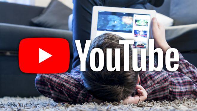 نقض حریم کودکان توسط یوتیوب