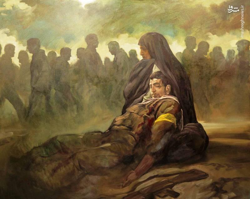 اثر جدید «حسن روح الامین» با موضوع شهدای فاطمیون