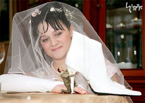 عکسهای عروسی عجیب و خنده دار