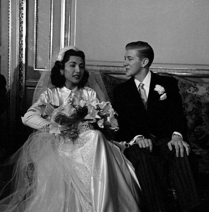 ازدواج جنجالی دختر رضاخان با یک آمریکایی +عکس