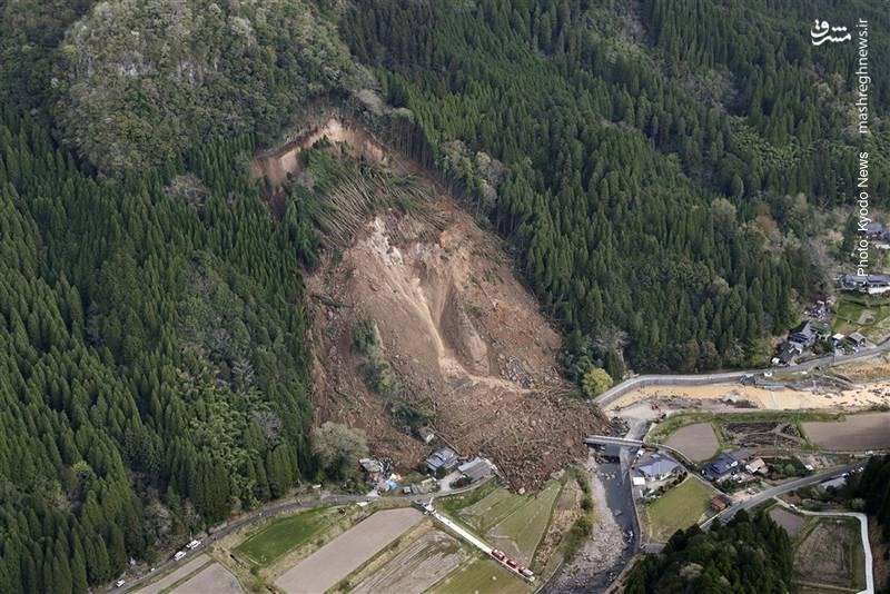 رانش زمین در ناکاتسوی ژاپن در ساعت سه و پنجاه دقیقه بامداد، منجر به ناپدیدشدن 6 فرد و تخریب جزئی چهار خانه شد.