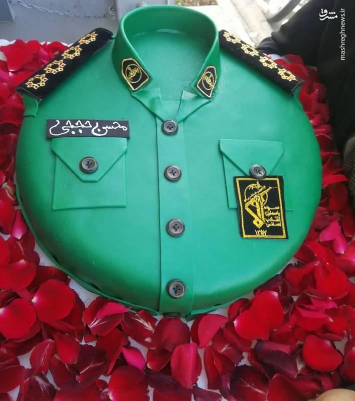 کیک روز پاسدار شهید حججی - بعد از شهادت