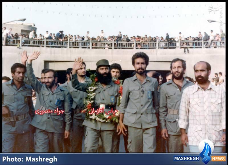 عباس آقا زمانی و جواد منصوری