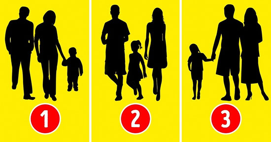 تست روانشناسی: حدس بزنید کدامیک خانواده واقعی نیستند