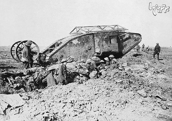 غولهای آهنین: تاریخچه ۱۰۰ سال حضور تانکها در میدان جنگ