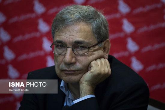 نشست خبری اورهان پاموک برنده نوبل