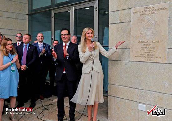 افتتاح رسمی سفارت آمریکا در قدس