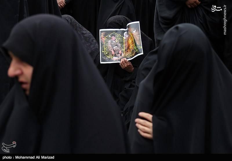 تشیع شهید مدافع حرم سالم صفر زاده