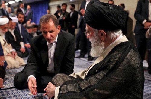 گفتگوی رهبر انقلاب و جهانگیری