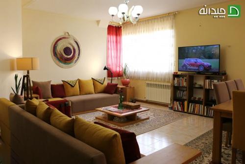 دکوراسیون داخلی منزل، ایده های دیدنی این زوج معمار شیرازی!