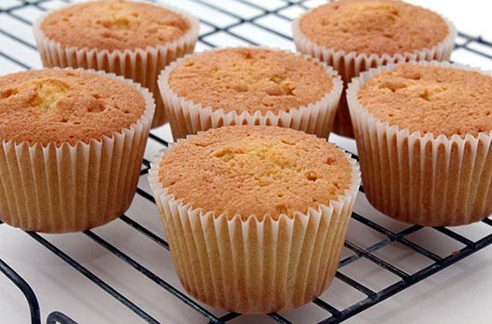 طرز تهیه کاپ کیک آسان و خوشمزه