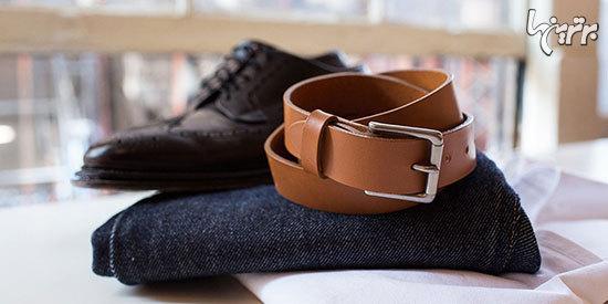 راهنمای ست کردن رنگ کفش با کمربند برای آقایان