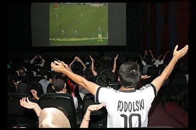 ۵ هزاربلیت سینما برای فوتبال ایران و مراکش فروش رفت