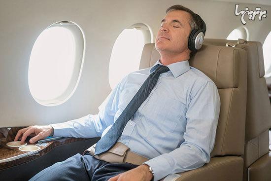 چگونه در پروازهای طولانی خواب راحتی داشته باشیم