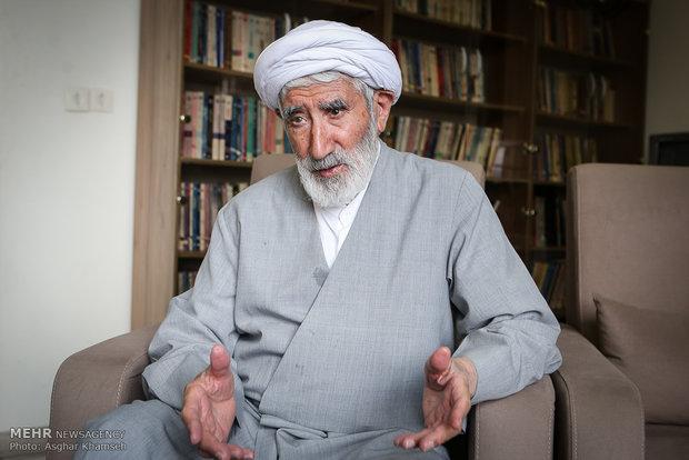 گفت و گو با ایت الله احمد احمدی