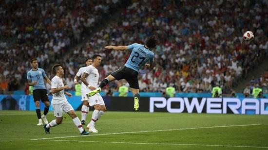 پرتغال ۰ - اروگوئه ۱؛ تا دقیقه ۱۸