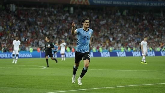 اروگوئه ۲ - پرتغال ۱؛ تا دقیقه ۷۳