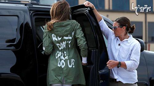 لباسهای جنجال برانگیز ملانیا ترامپ