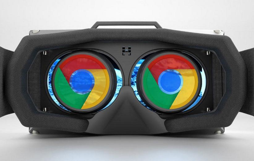 جستوجو در اینترنت با هدست واقعیت مجازی گوگل
