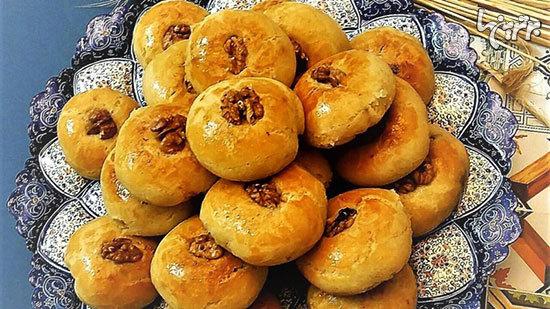 شیرینیهای خوشمزه کرمانشاه؛ بفرمایید نان برنجی!