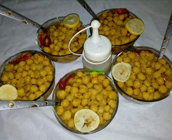 «شوربا نخود آب» را با لیمو تازه میل کنید